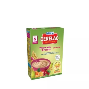 Nestle Cerelac 1 Wheat With 3 Fruits (6 months +) BIB