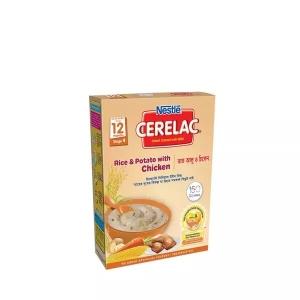 Nestle Cerelac 4 Rice & Potato With Chicken (12 months+) BIB