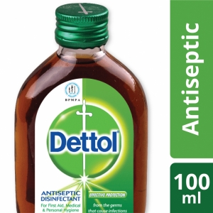 Dettol Antiseptic Liquid (Brown) Single Pack 100ml