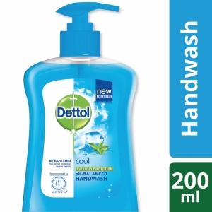 Dettol Handwash Cool Liquid Soap Pump
