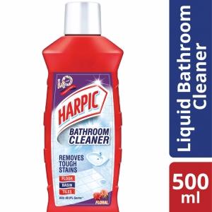 Harpic Bathroom Cleaning Liquid Floral 500ml