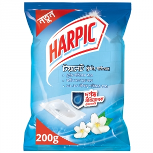 Harpic Toilet Cleaning Powder with Malodor Control Technology 200gm