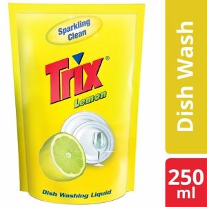 Trix Dishwashing Liquid Refill 250ml (Lemon)