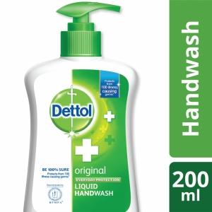 Dettol Handwash Original Liquid Soap Pump 200ml