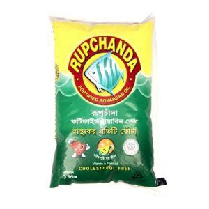 Rupchanda Soyabean Oil (Poly) 1 Ltr