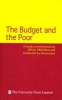 The budget and the Poor (2nd Impression)