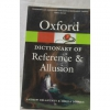 Oxford Dictionary of Reference & Allusion