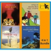 "Jaago Foundation: "" 4 Pieces Of Books Bundle"" For Zakat Campaign"