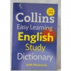 Collins Easy Learning English Study Dictionary with Thesaurus