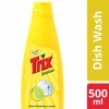 Trix Dishwashing Liquid Bottle 500ml (Lemon)